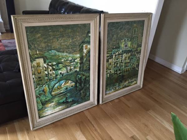 Warren Woodard Original Silk Screens     $75 each     View on Craigslist