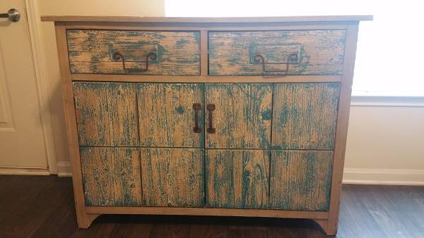 Distressed Cabinet     $120     View on Craigslist
