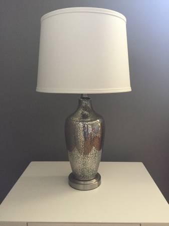 West Elm Mercury Glass Lamps     $50 each     View on Craigslist