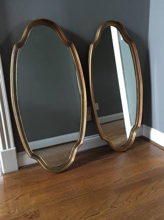 Pair of Mirrors $50 These would be perfect to use over the vanity in a master bath! View on Craigslist