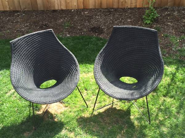 Pair of Outdoor Chairs $150 View on Craigslist