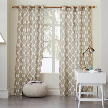 Pair of West Elm Curtains     $60     View on Craigslist