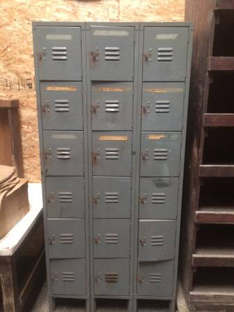 Vintage Lockers     $100     View on Craigslist