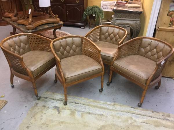 Set of Vintage Chairs     $300     View on Craigslist