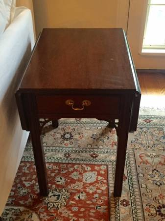 Drop Leaf Side Table $50 View on Craigslist
