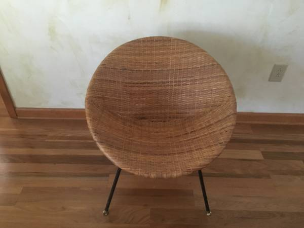 Wicker Chair     $60     View on Craigslist