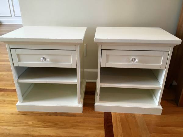 Pair of Bedside Tables     $50     View on Craigslist