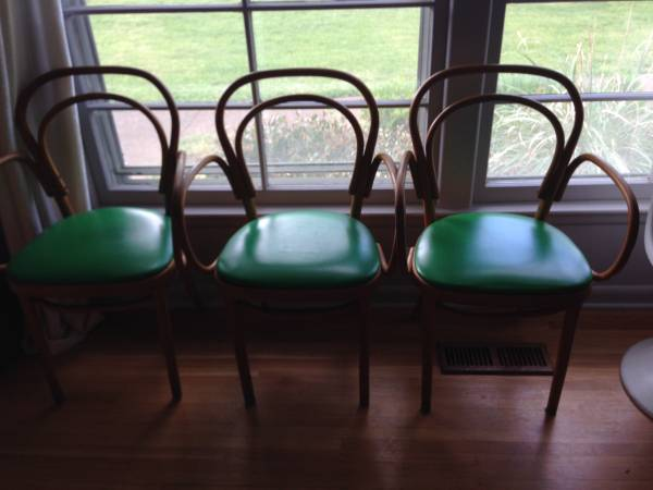Set of 3 Vintage Chairs $75 View on Craigslist
