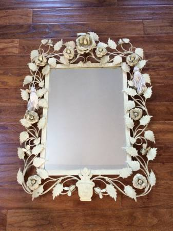 Floral Mirror $30 View on Craigslist