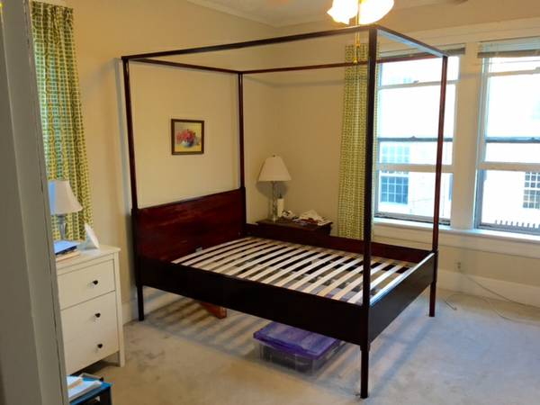 Full Size Canopy Bed     $175     View on Craigslist