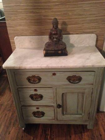 Antique Washstand $165 View on Craigslist