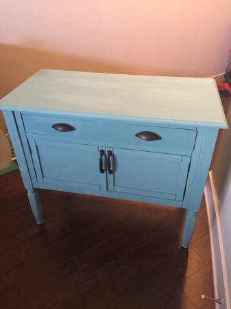 Chalk Painted Cabinet $80 View on Craigslist