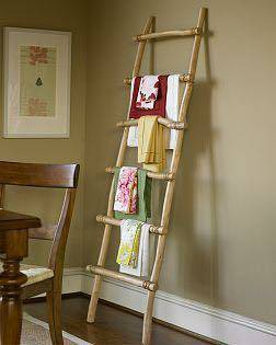 Pottery Barn Bamboo Ladder $35 View on Craigslist