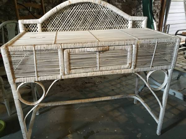 Wicker Desk     $50     View on Craigslist