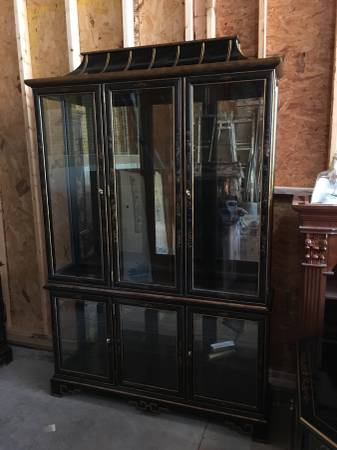 Black China Cabinet     $250     View on Craigslist