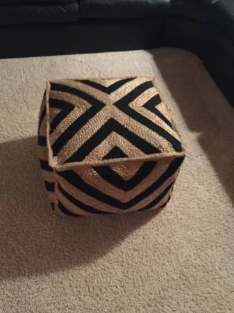 Pouf $40 View on Craigslist