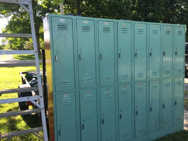 Set of School Lockers $250 View on Craigslist