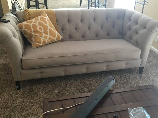 Tufted Sofa $350 View on Craigslist