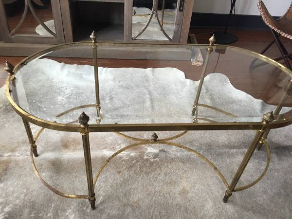 Brass Coffee Table     $100     View on Craigslist