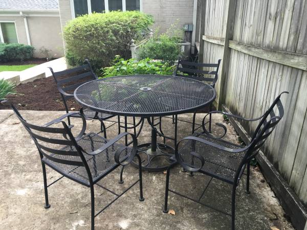 Patio Table and Chairs $75 View on Craigslist