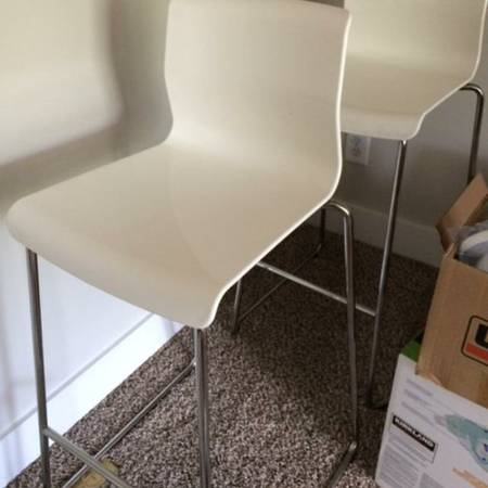 Pair of Ikea Bar Stools $75 These retail for $79 each. View on Craigslist