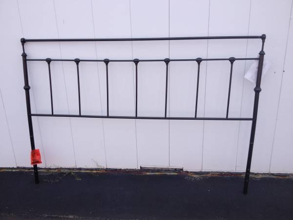 King Size Metal Headboard $90 View on Craigslist