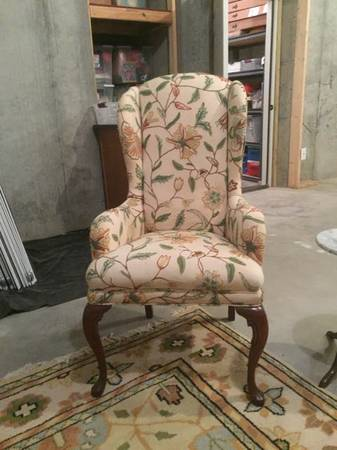 Crewel Work Chair     $50     View on Craigslist