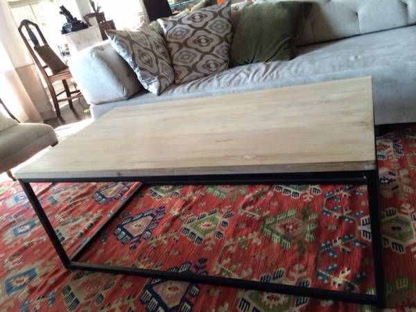 West Elm Coffee Table     $195     View on Craigslist