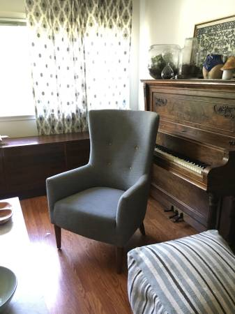 West Elm Chair $325 View on Craigslist