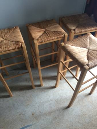 Set of 4 Bar Stools     $75     View on Craigslist