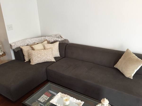West Elm Sectional $500 View on Craigslist