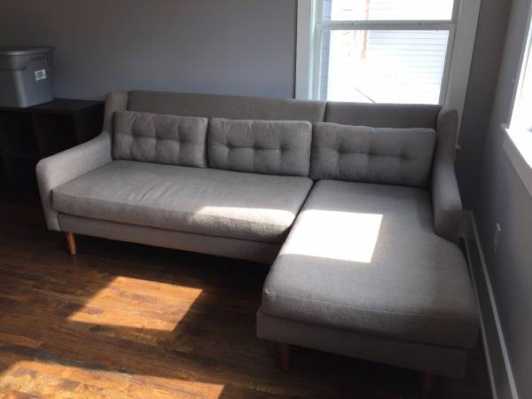 West Elm Sofa     $400     View on Craigslist