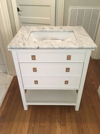 Pottery Barn Vanity     $800   This is brand new and retails for $999.    View on Craigslist
