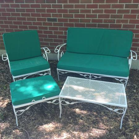 Vintage Patio Set     $75     View on Craigslist