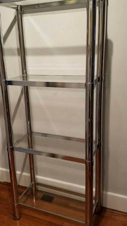 Vintage Chrome Shelf     $145     View on Craigslist