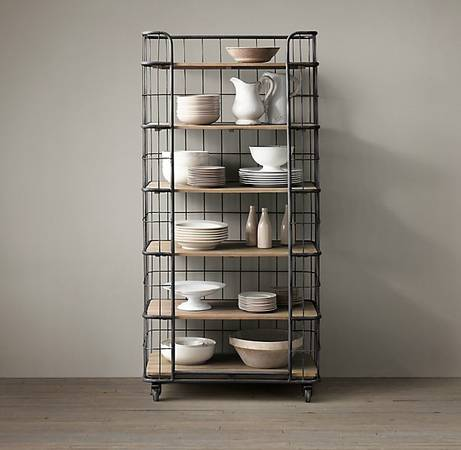 Restoration Hardware French Baker's Rack     $675 each   There are 2 available - these retail for $1195 at Restoration Hardware.    View on Craigslist