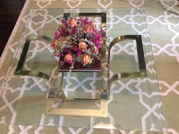 Z Gallerie Coffee Table     $90     View on Craigslist