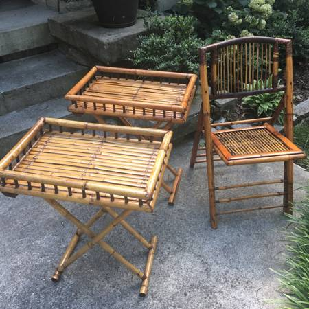 Bamboo Tables and Chair     $50     View on Craigslist