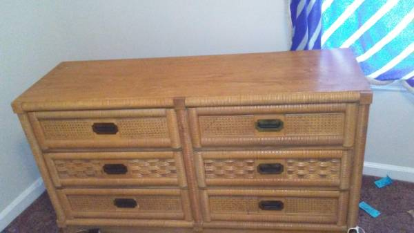Dresser and Nightstand $40 View on Craigslist