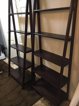 Pair of Bookshelves $50 View on Craigslist