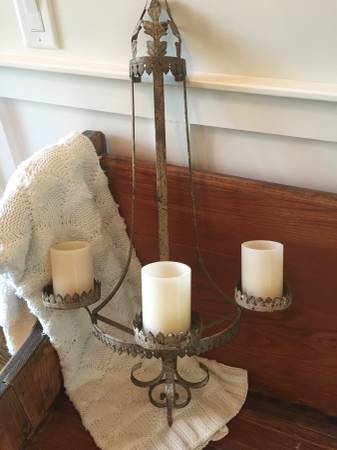 Pair of Magnolia Market Sconces     $160     View on Craigslist