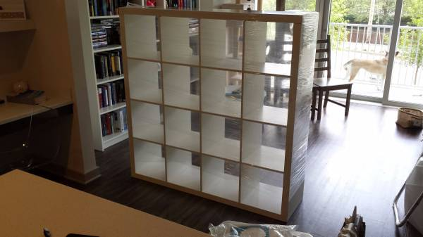 Ikea Expedit Storage Cube     $40   This is a great piece for a playroom and a good deal.     View on Craigslist
