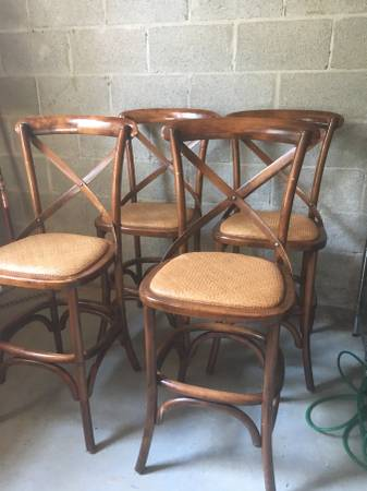 Set of Ballard Designs Counter Stools $400 These retail for $229 each.  View on Craigslist