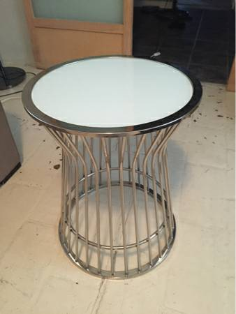 West Elm Side Table     $80     View on Craigslist