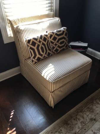 Upholstered Chair $50 View on Craigslist