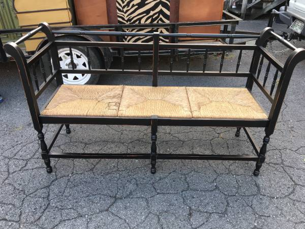 Black Bench     $100     View on Craigslist