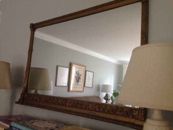 Large Vintage Mirror     $50     View on Craigslist