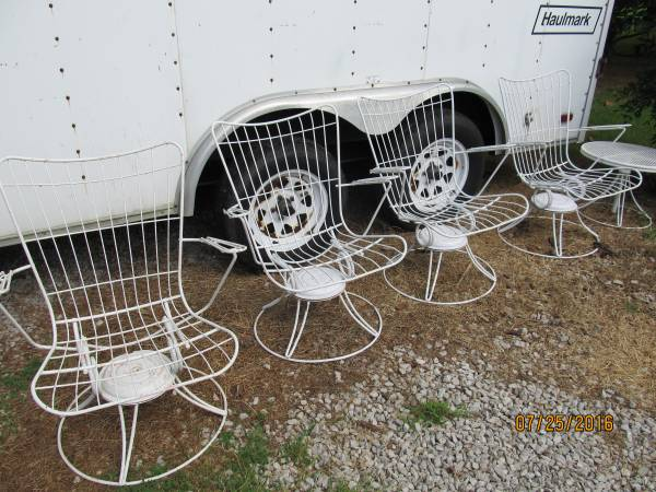 Vintage Metal Chairs     $125 each     View on Craigslist