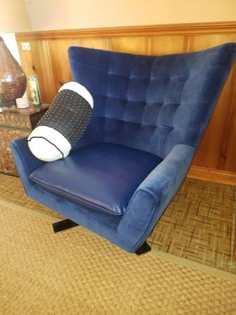 Retro Blue Chair $150 View on Craigslist