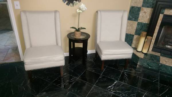 Pair of Safavieh Club Chairs     $280     View on Craigslist